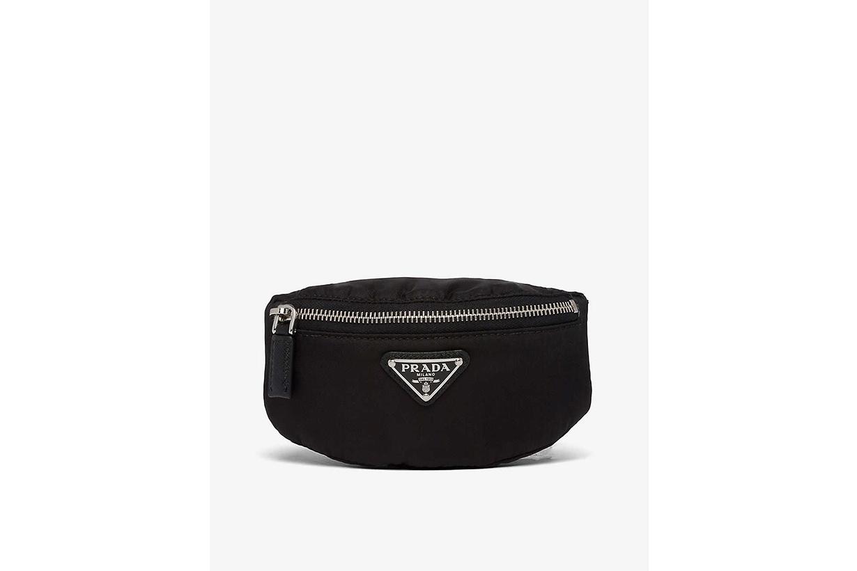 prada best selling recycled nylon handbags