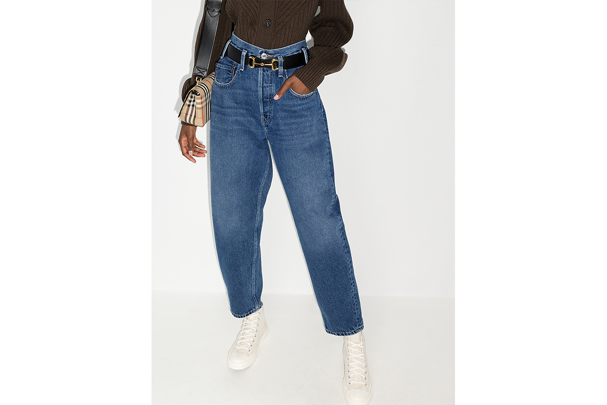 RE/DONE '80s High-Rise Jeans
