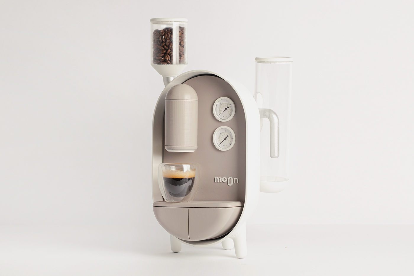 Roee Ben Yehuda MOON Coffee Maker