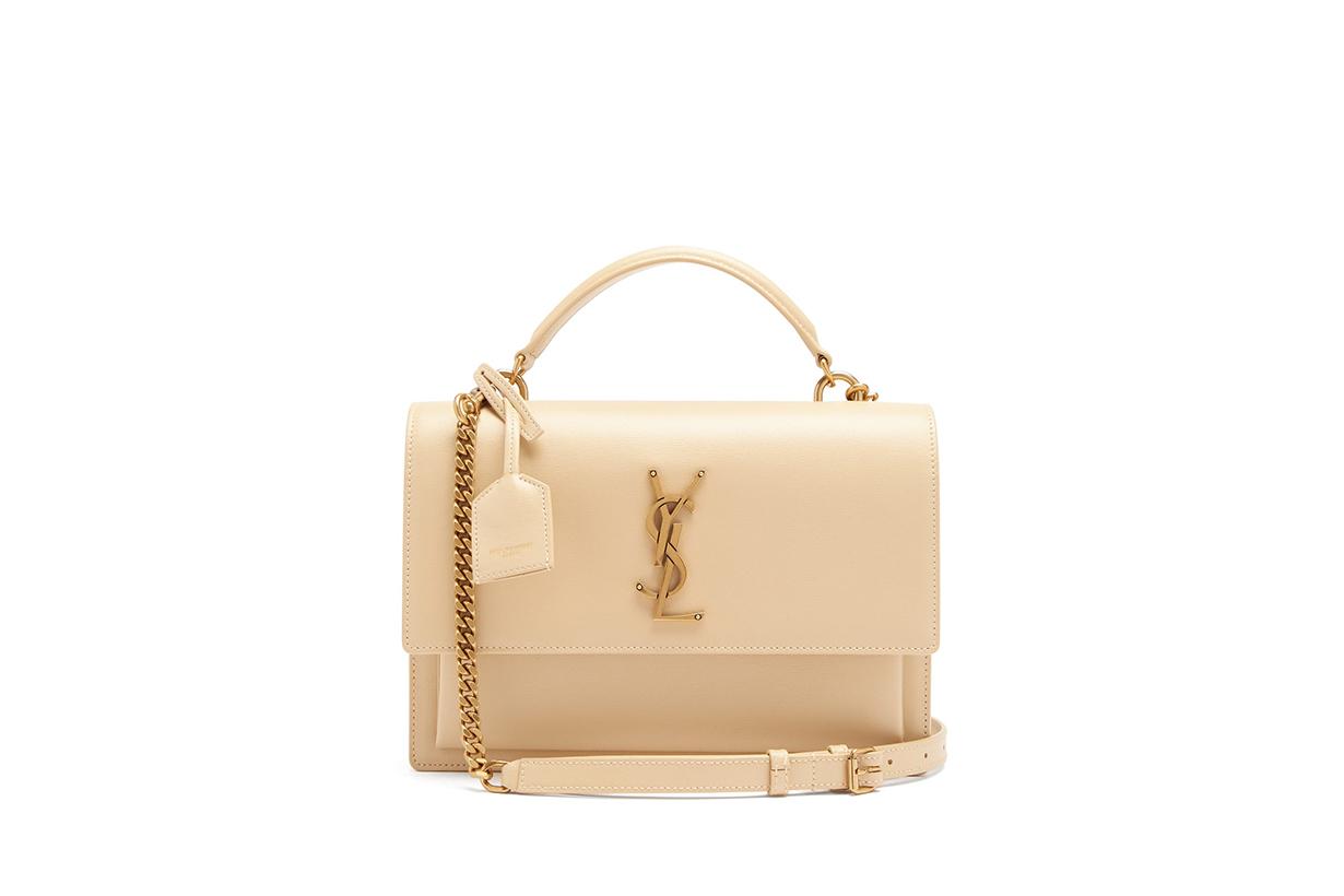 Saint Laurent Sunset Bag Sunset Satchel It Bags Handbags 2020 Fall Winter Handbag Trend