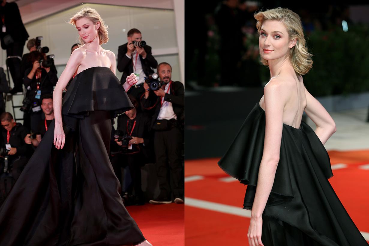 Elizabeth Debicki Tenet SCHIAPARELLIdress Venice Film Festival 2019