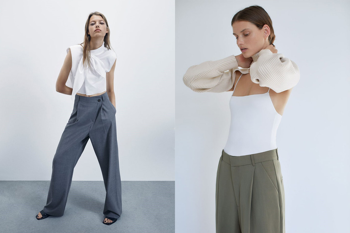 zara fast fashion 2020 fw collection