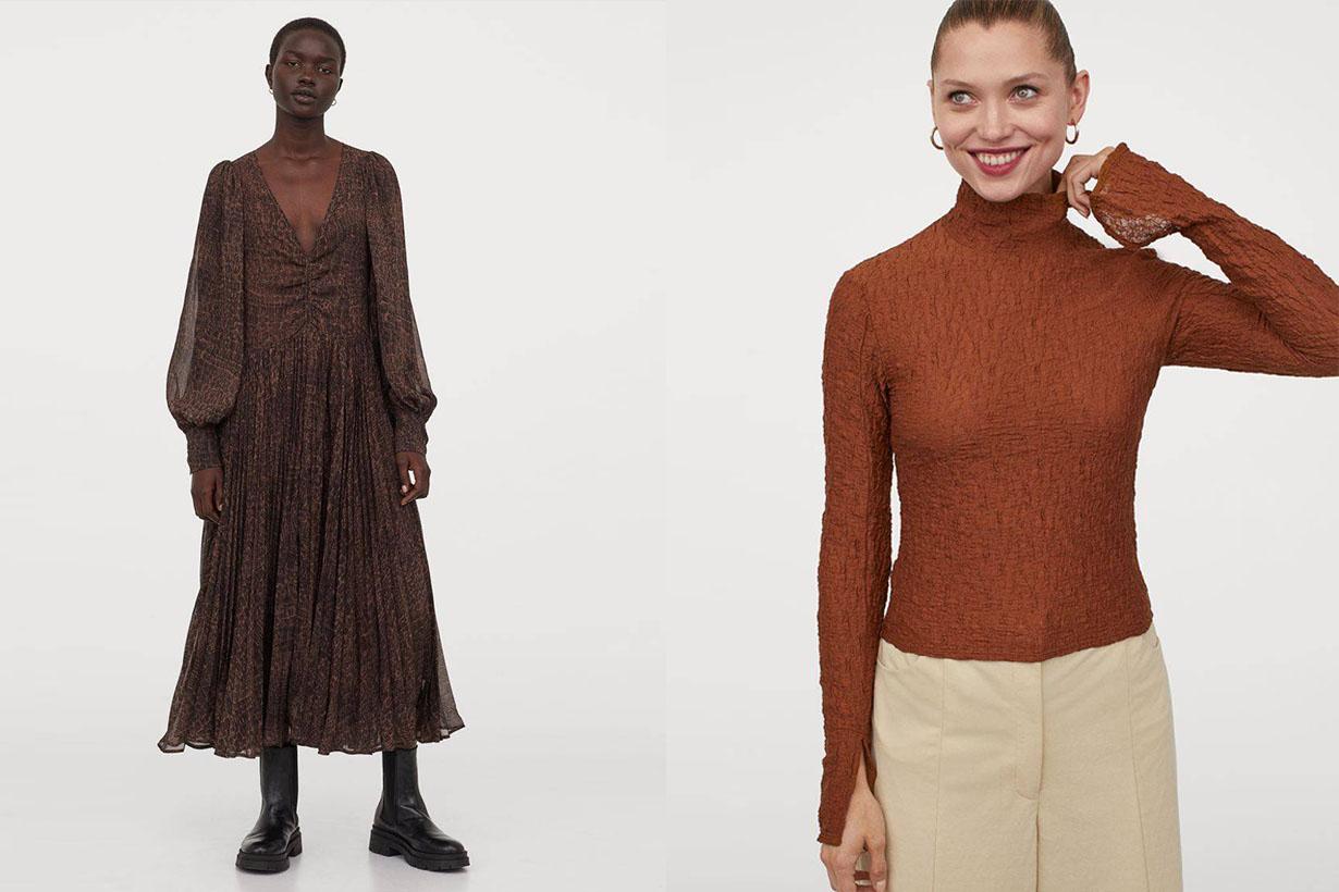 H&M 2020 fw fashion trend items