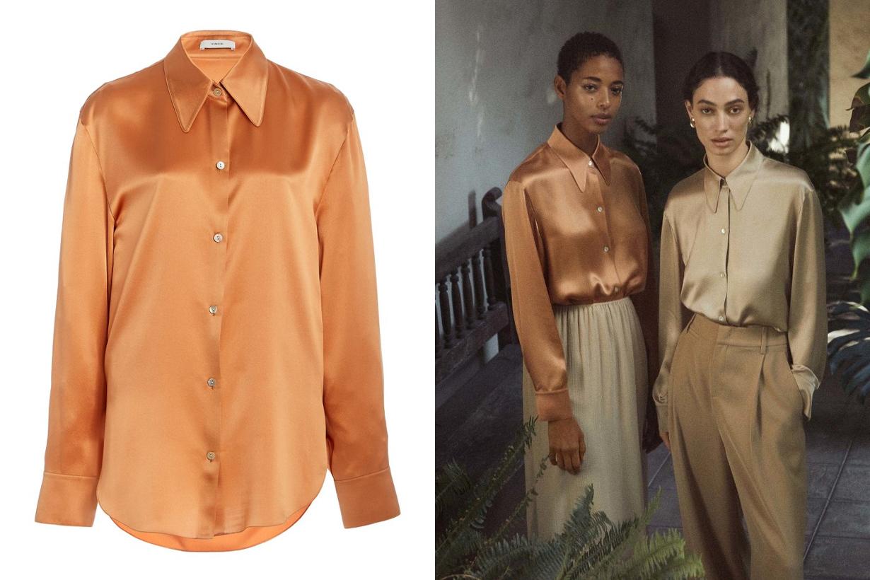 Satin Silk Shirt Style Autumn Winter 2020