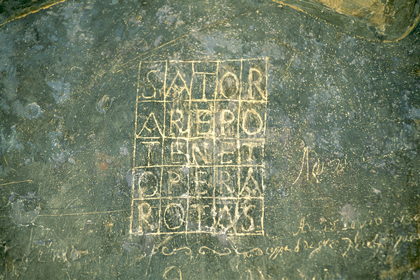 tenet Sator Square meaning Christopher Nolan