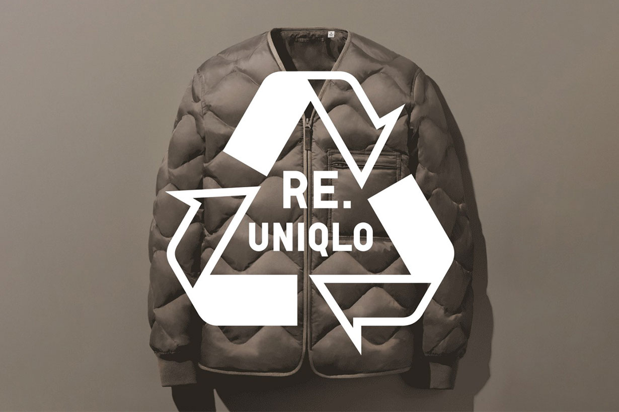UNIQLO 100-percent recycled down jacket
