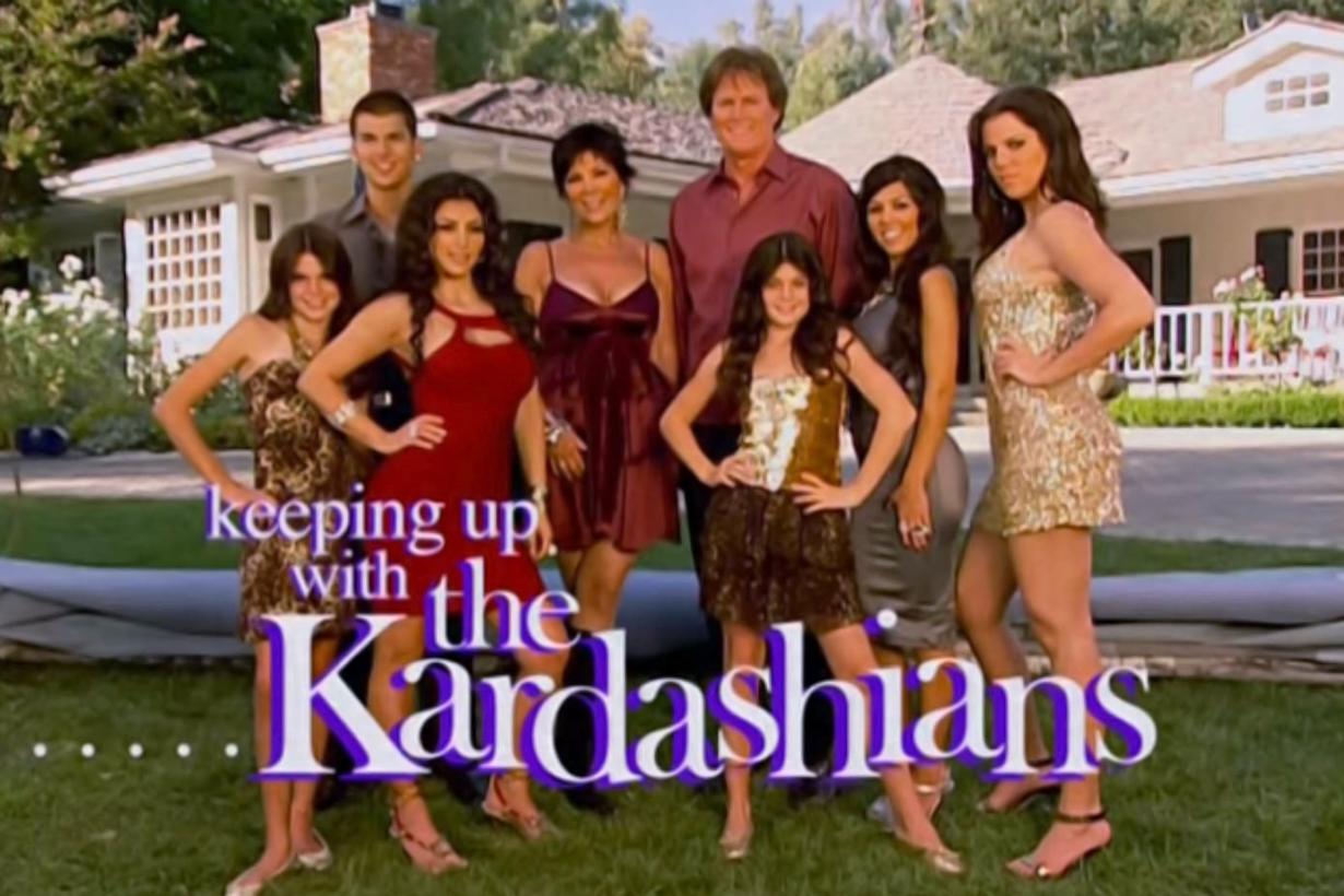 Keeping Up with the Kardashians Kris Jenner Caitlyn Brush Jenner Kourtney Kardashian Kim Kardashian Khloe Kardashian Rob Kardashian Kendall Jenner Kylie Jenner Scott Disick reality show