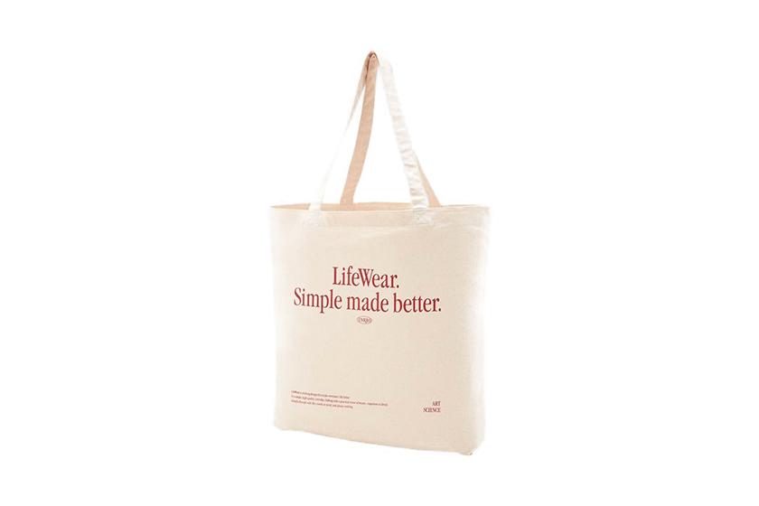 UNIQLO LifeWear Eco-Friendly Tote Bag