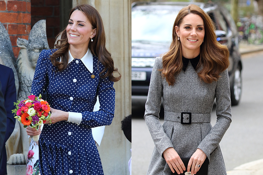 Kate Middleton curved layers Hair trend 2020 fw