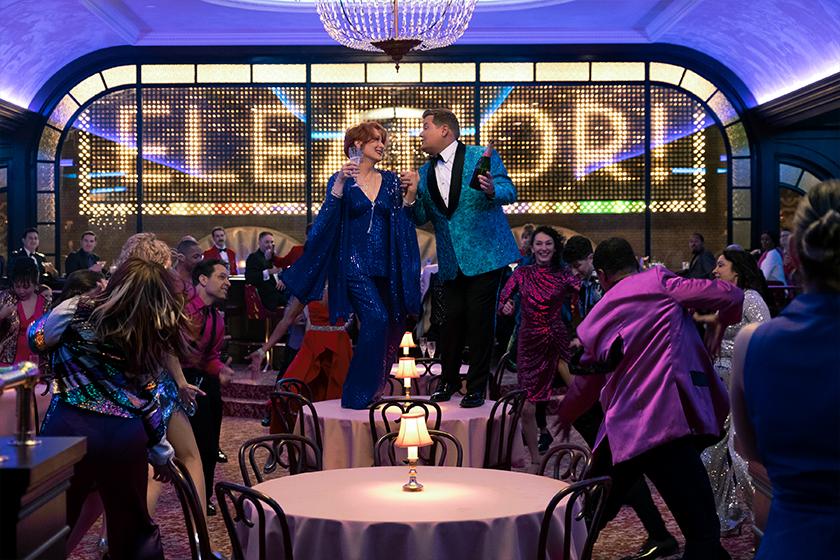 Netflix The Prom Nicole Kidman Meryl Streep James Corden