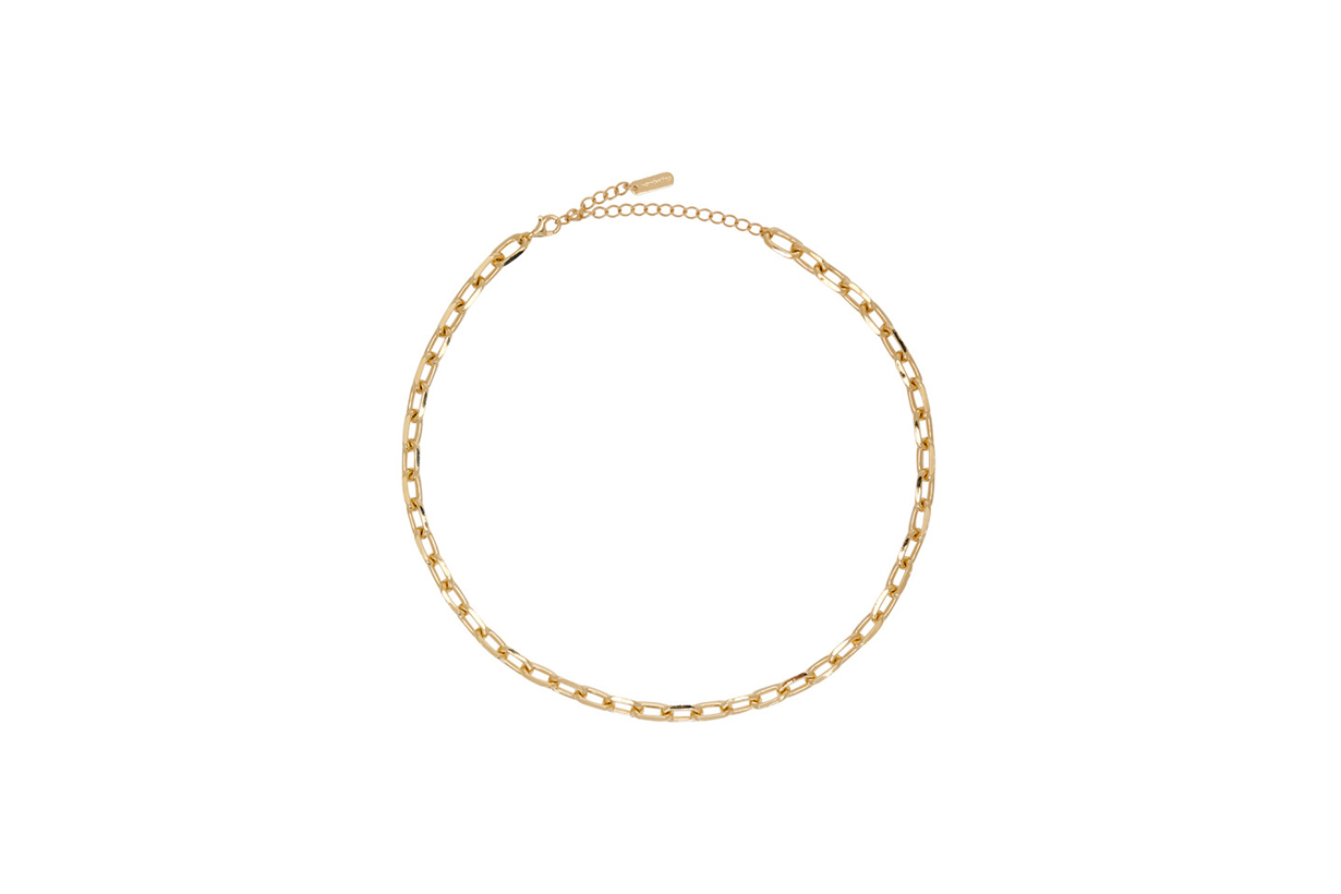 2020 Fall Winter Jewellery Trends Chunky Chain Accessories Bracelet Necklace Earrings