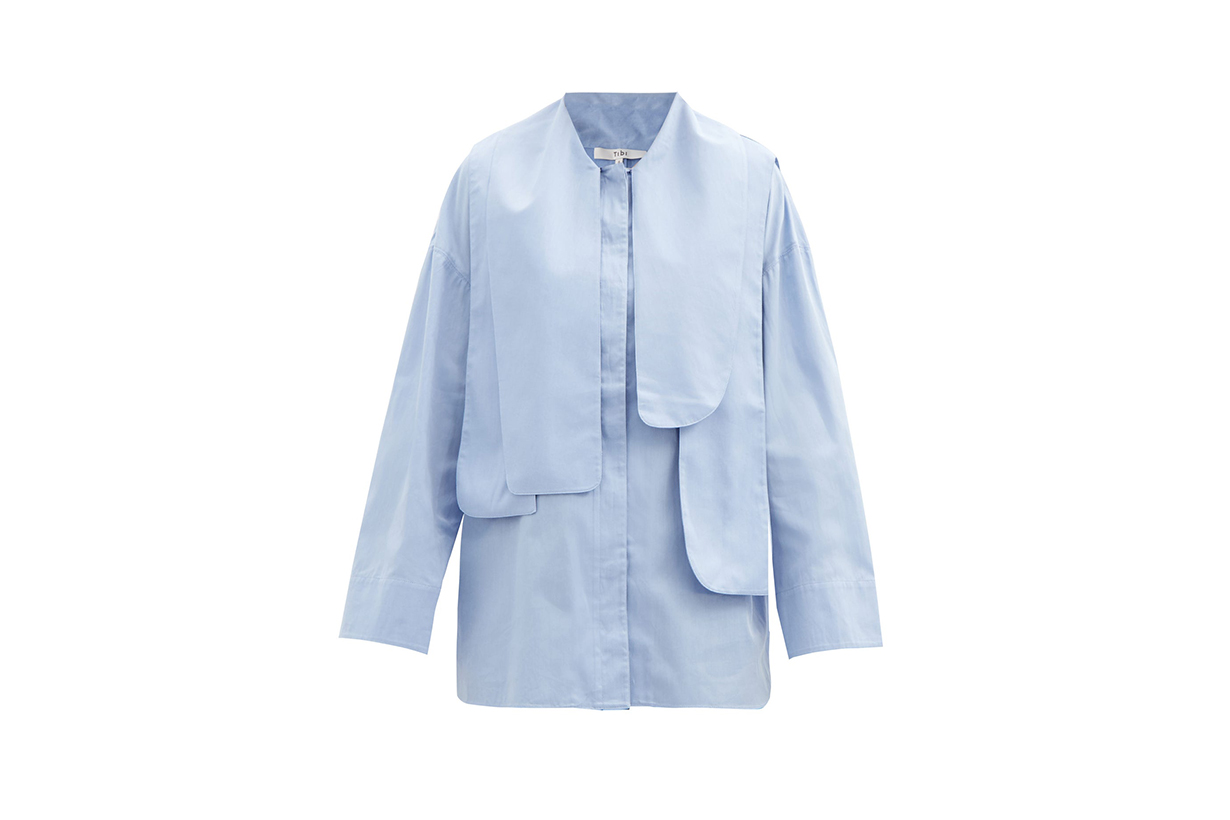 White Shirt Blue Shirt 2020 Fall Winter Fashion Trends Styling Tips Fashion Items Korean Girls