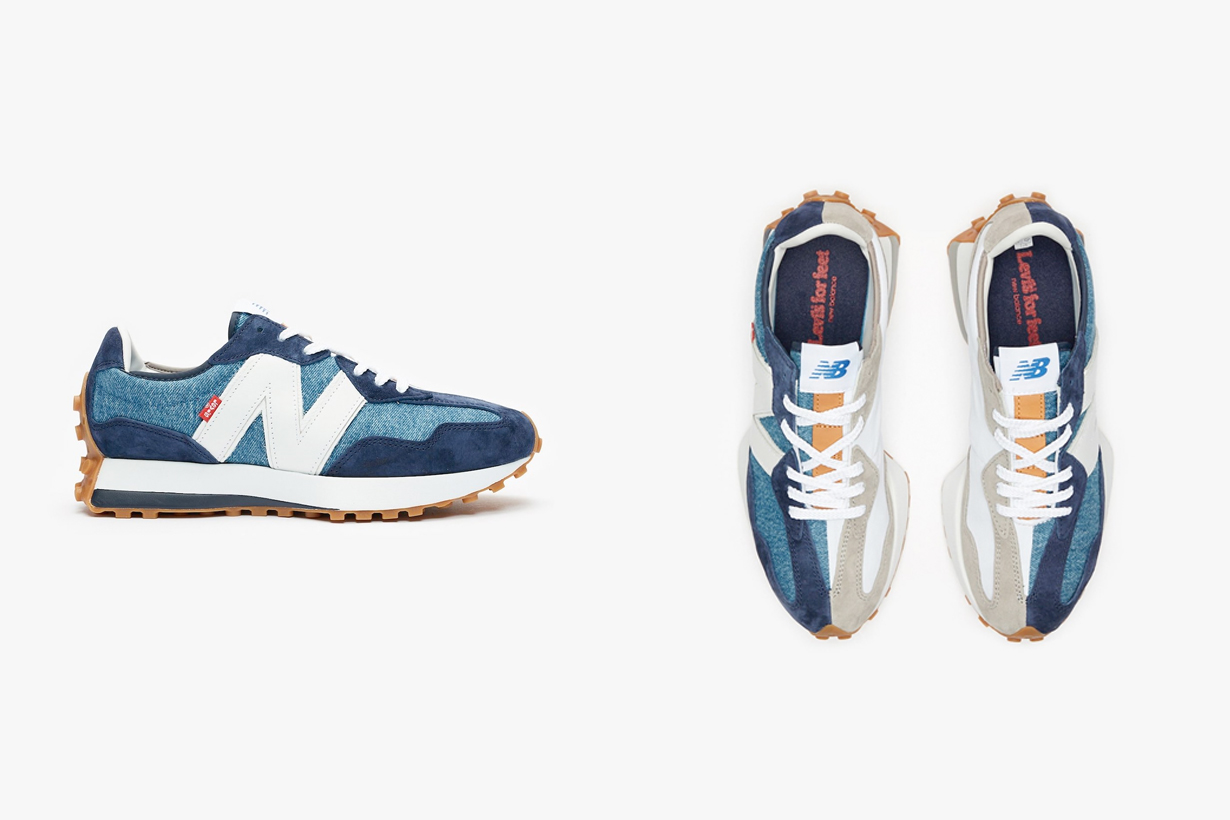 levi's new balance 327 jacket sneakers 2020 december