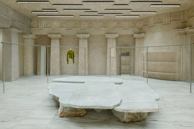 acne studios Stockholm Syndrome bank marble new flagship