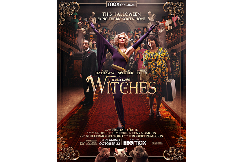 Anne Hathaway the witches Roald Dahl trailer