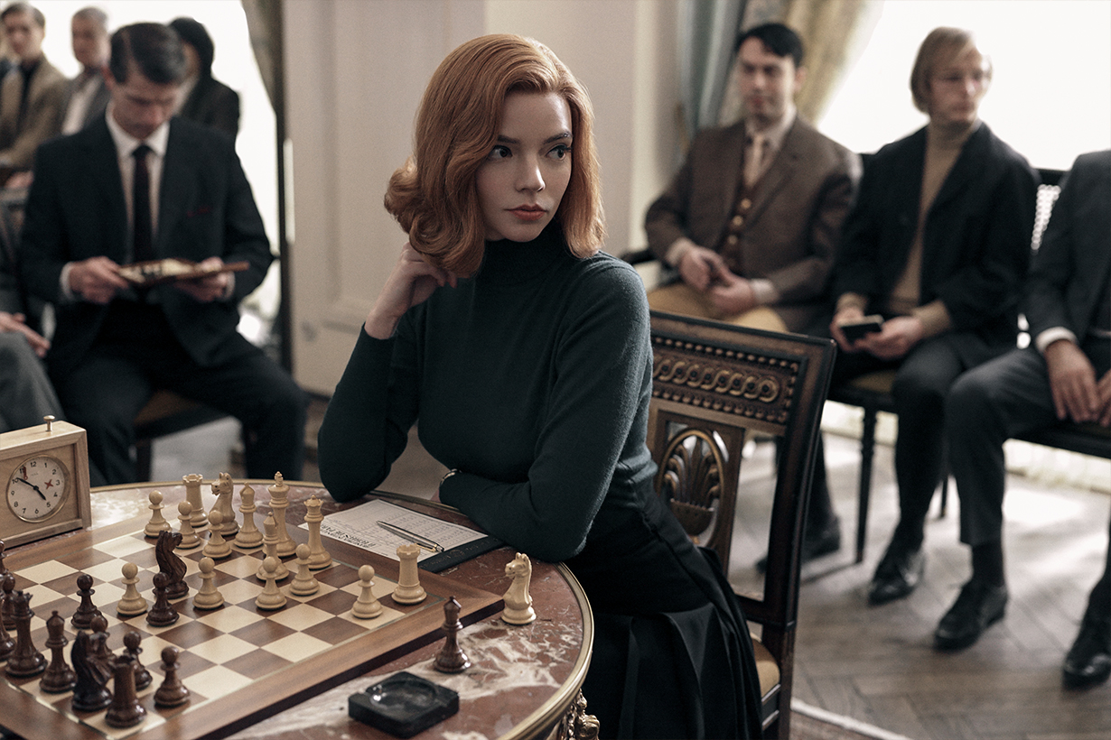 Anya Taylor-Joy Netflix The Queen's Gambit The Witch Split Glass Emma. Emma Stone Audrey Hepburn Hollywood Actresses