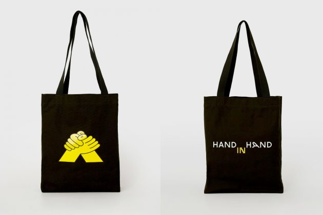 artifacts hand in hand t-shirt tote case where buy 2020 charity