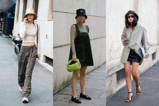 bucket hat fall winter spring styling tips
