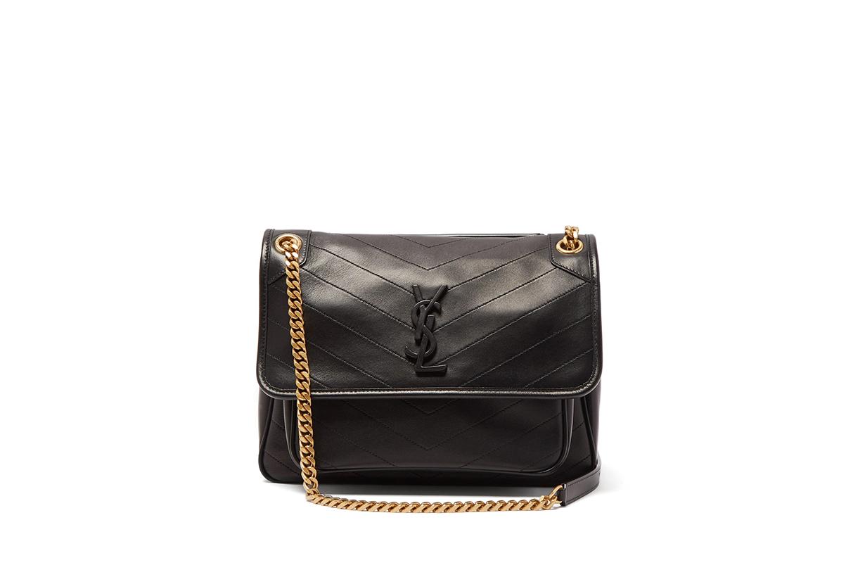 Little Black Dress Black Handbags Trend 2020 Fall Winter JIL SANDER CHLOÉ LEMAIRE MARNI VALENTINO GARAVANI SAINT LAURENT MANSUR GAVRIEL LOEWE WANDLER