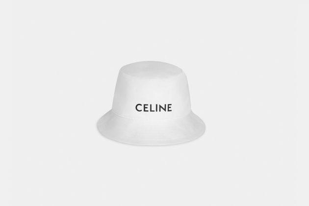 celine cap beanie bucket hat black white 2020 limited unisex