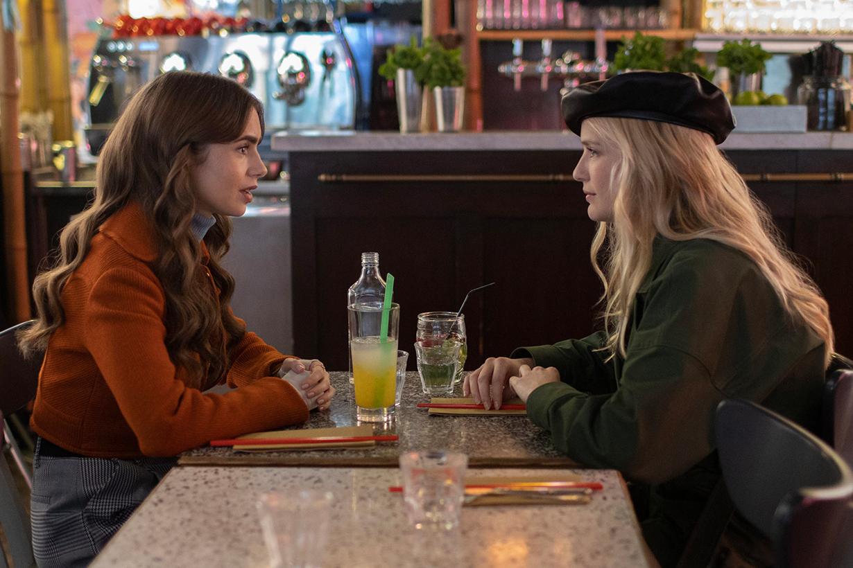 Emily in Paris Netflix drama social media