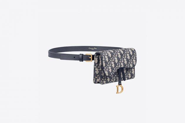 dior vintage saddle book tote belt bag resale value retentioin