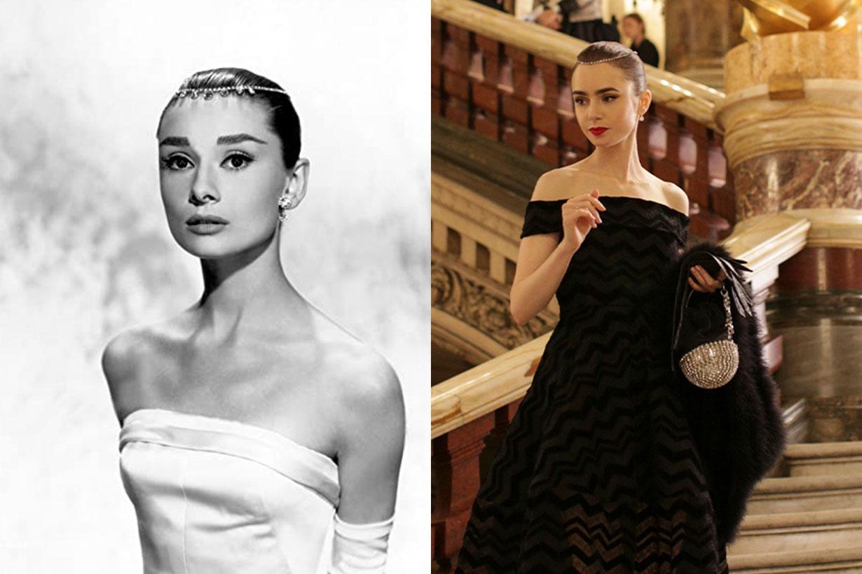 Audrey Hepburn, Lily Collins