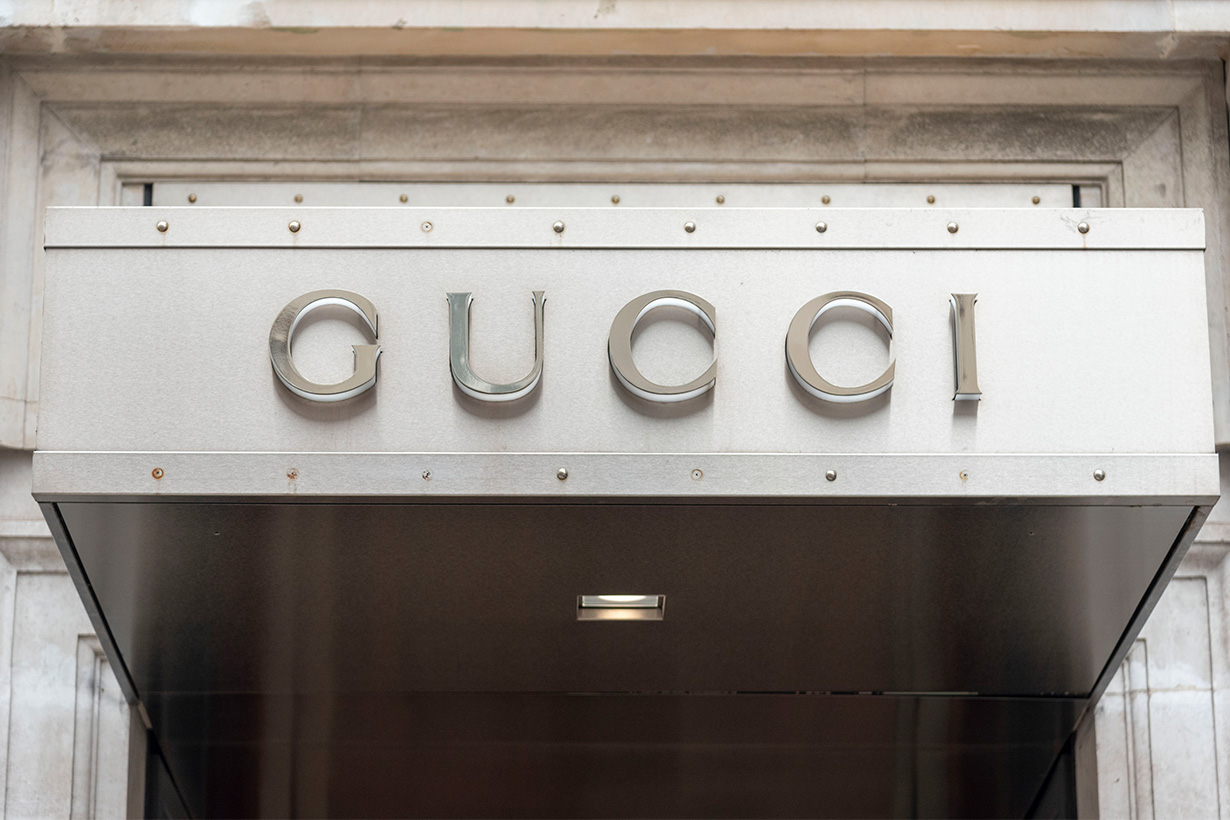 gucci the realreal partnership secondhand consignment fashion luxury brand