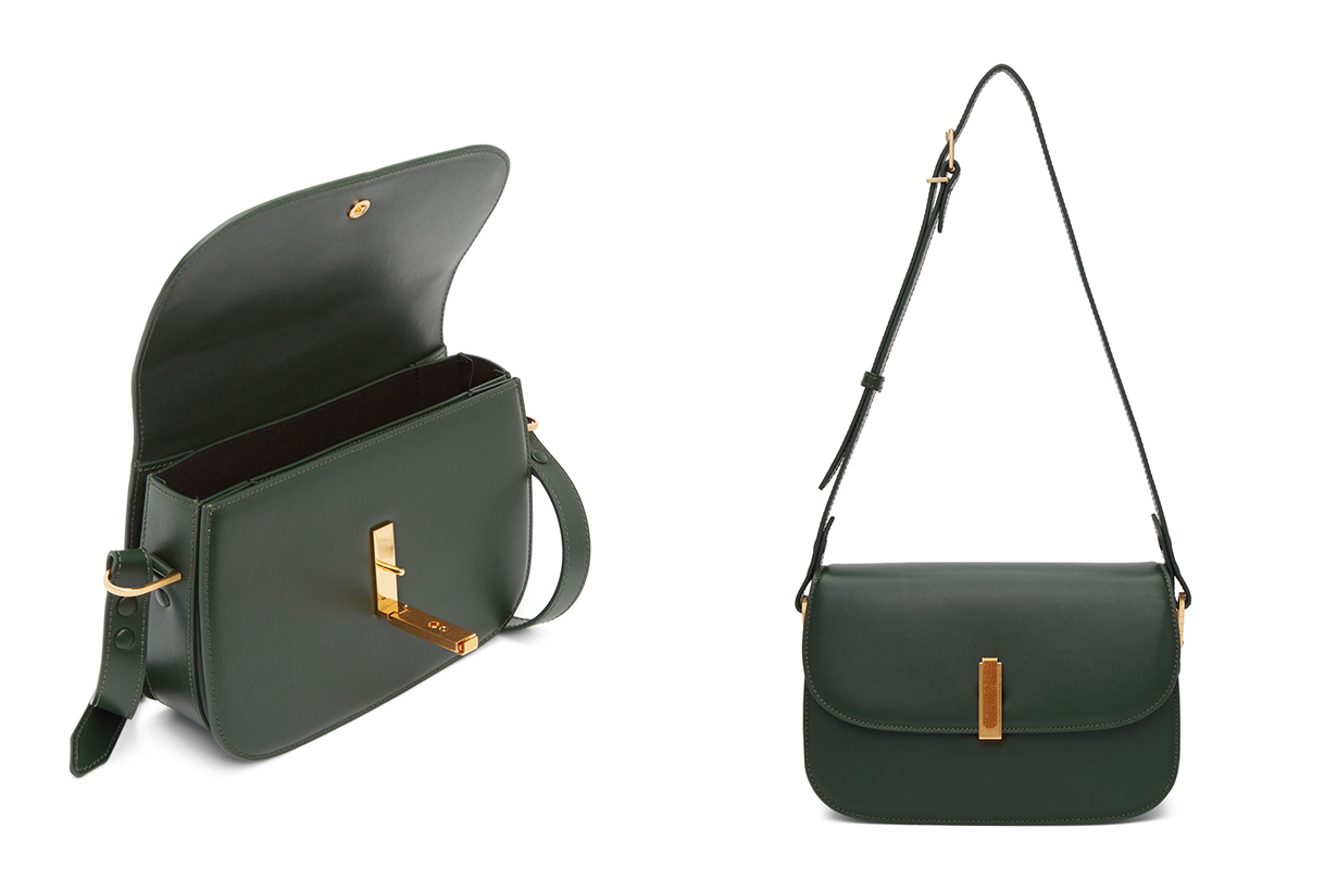 Green Co-Ed Messenger Bag