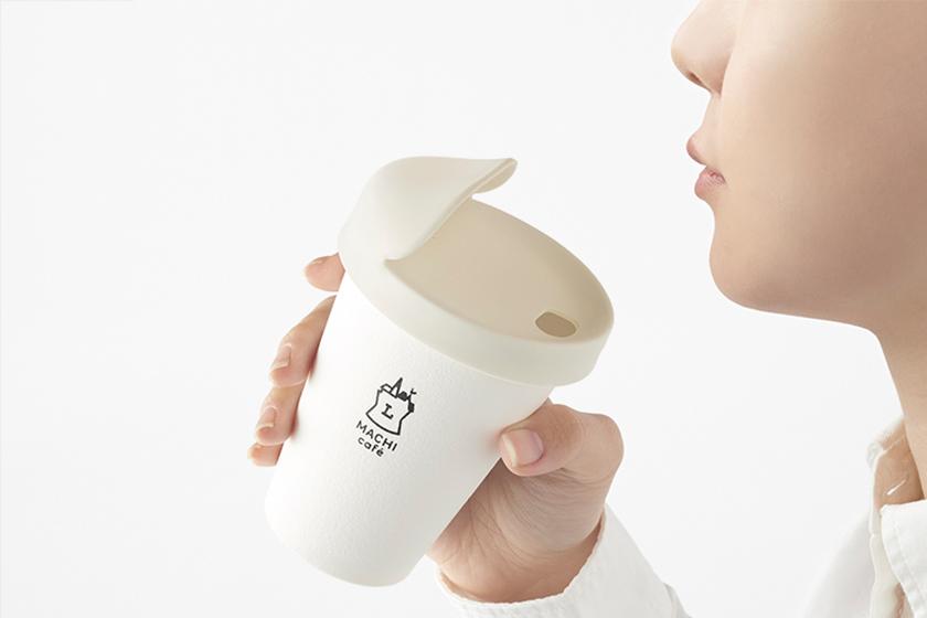 japan lawson nendo my-lid coffe cup lid
