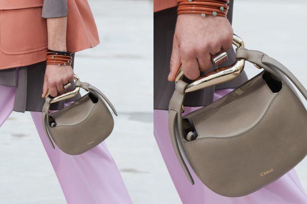 chloe 2021 ss handbags new kiss Hailey Bolster shape