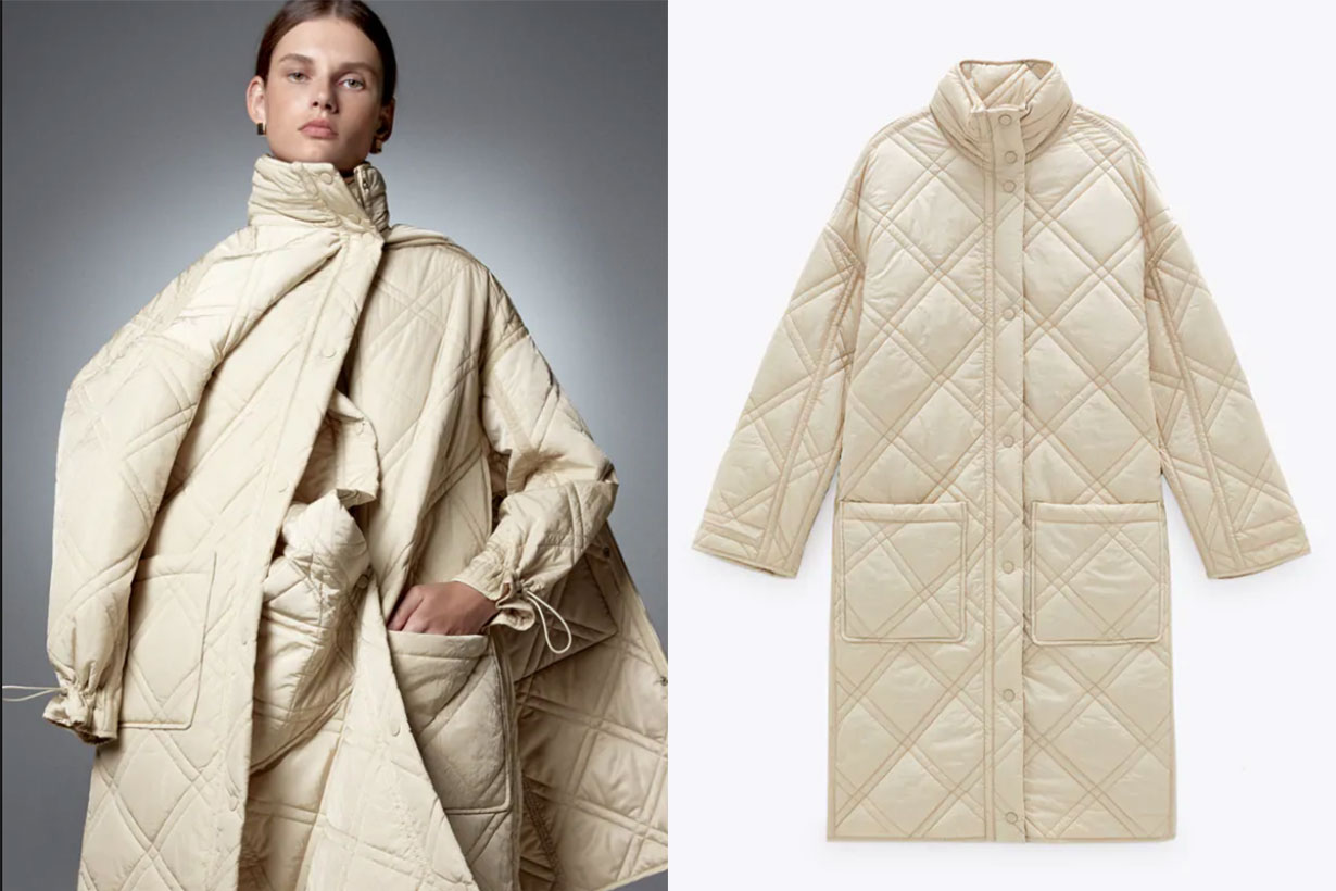 LIMITED EDITION QUILTED COAT