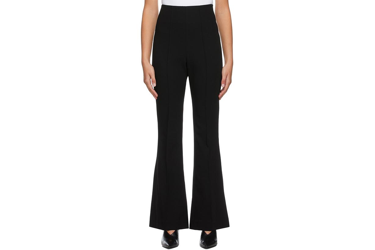 LOW CLASSIC Black Boot Cut Trousers