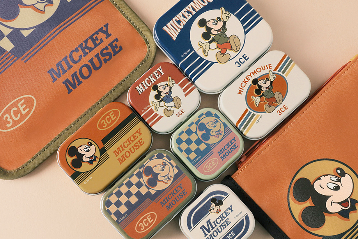 3ce mickey mouse travel makeup box 2020 vintage