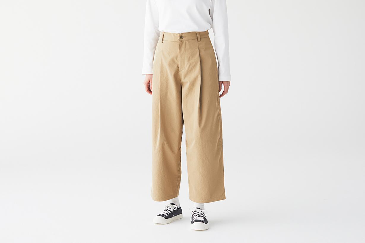muji wide pants petit girl japanese perfect jeans