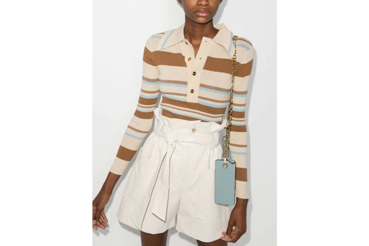 Penny Striped Ribbed Sweater