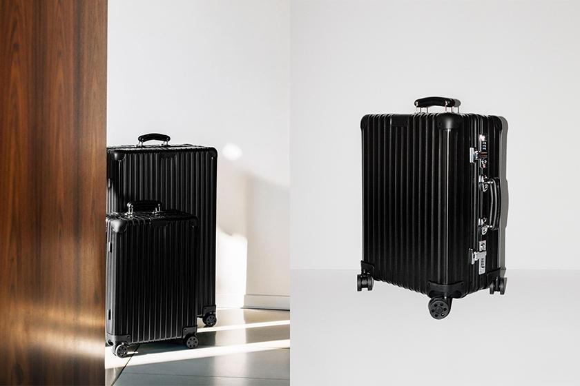 RIMOWA Classic Matte Black suitcase and New Unique Colours