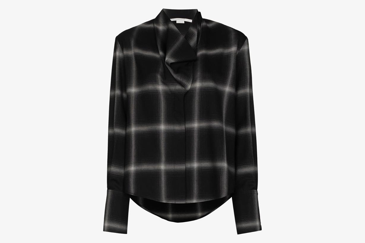 plaid shirt 2020 fw fashion street trend