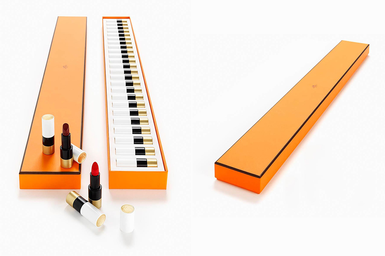 hermes rouge piano 24 limited lipstick collection make up beauty