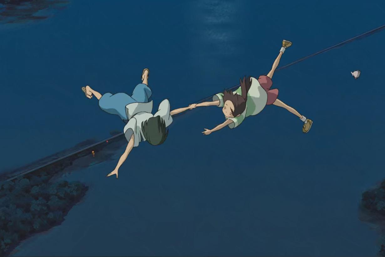Spirited Away Sen to Chihiro no Kamikakushi Chihiro Sen Haku Nigihayami Kohakunushi Hayao Miyazaki Japanese Animation Movies