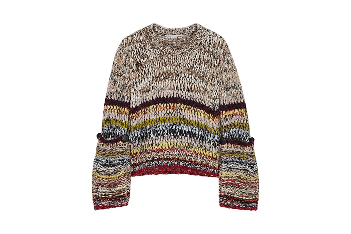 STELLA MCCARTNEY  Chunky-knit alpaca-blend jumper