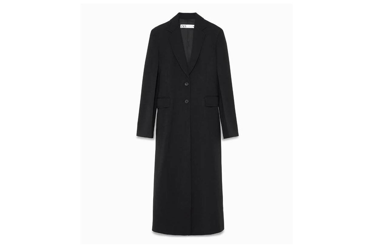 Zara Limited Edition Extra Long Coat