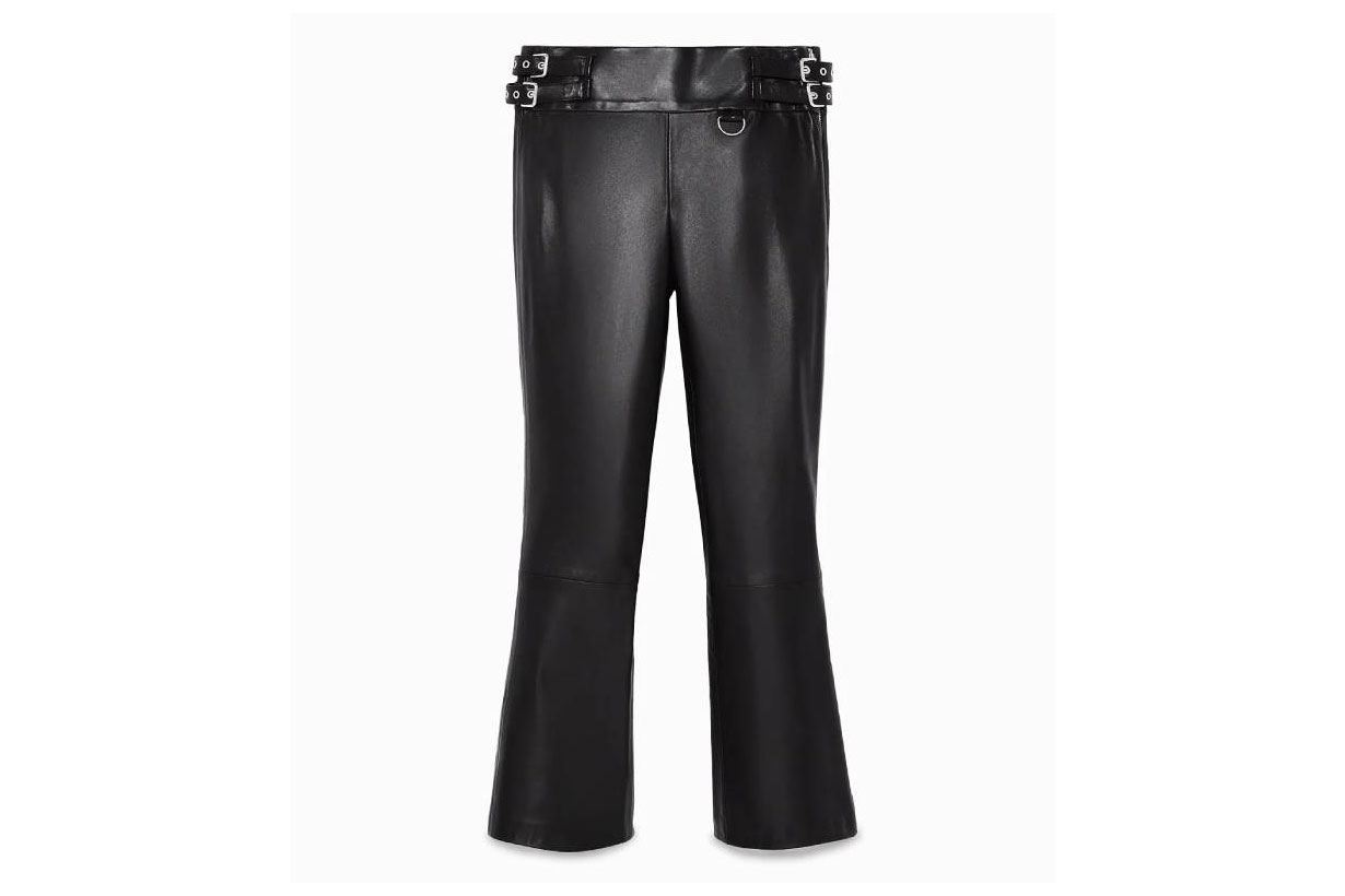 Zara Limited Edition Leather Trousers
