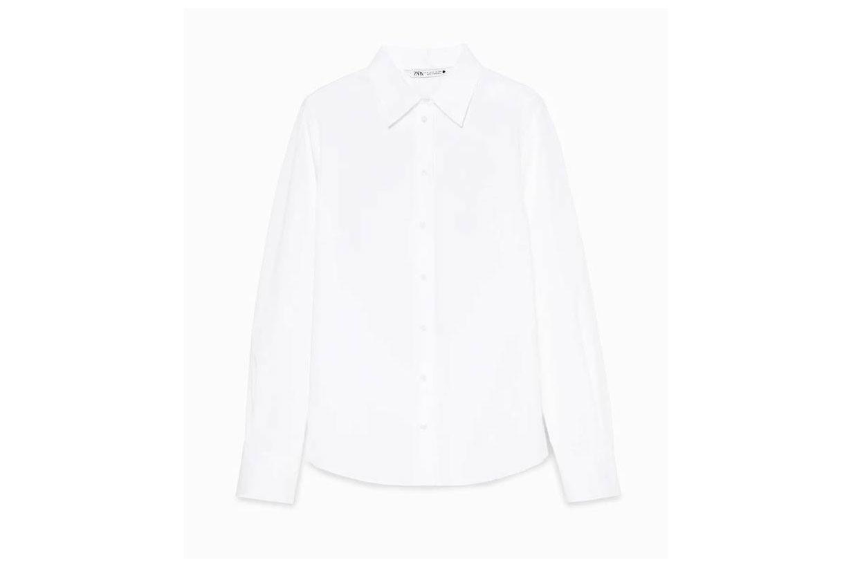 Zara Limited Edition Poplin Shirt