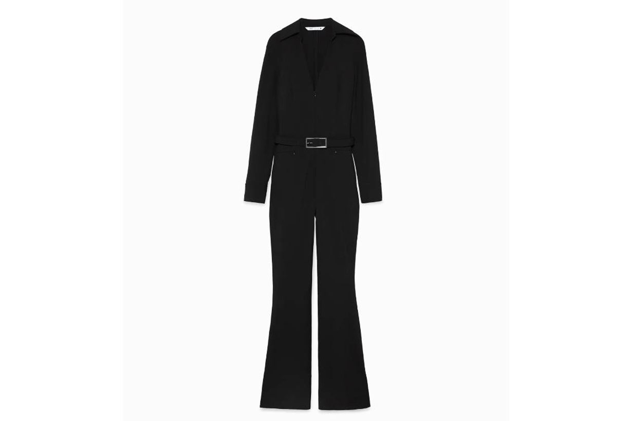 Zara Limited Edition Shirt-Style Jumpsuit