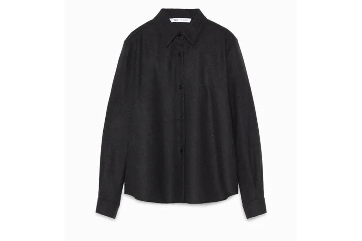 Zara Limited Edition Wool Blend Shirt