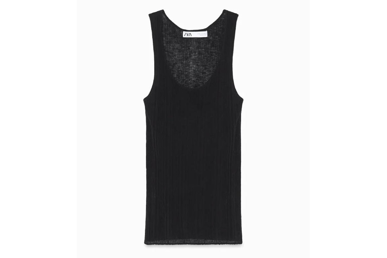 Zara Limited Edition Wool Knit Top