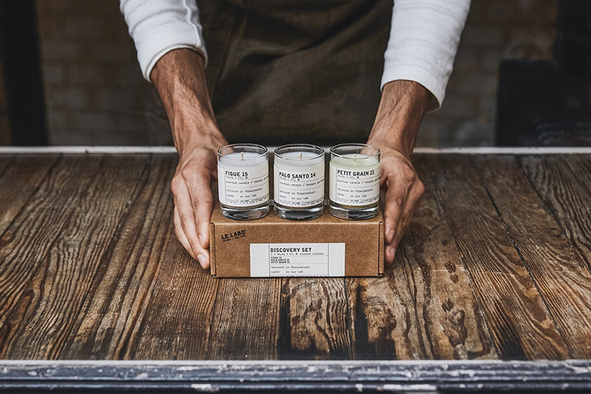 Le Labo Discovery Set Scented Candle Perfumes