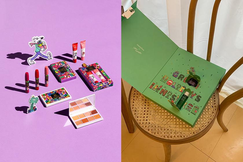 2020 Christmas collection Innisfree Etude House Celvoke RMK