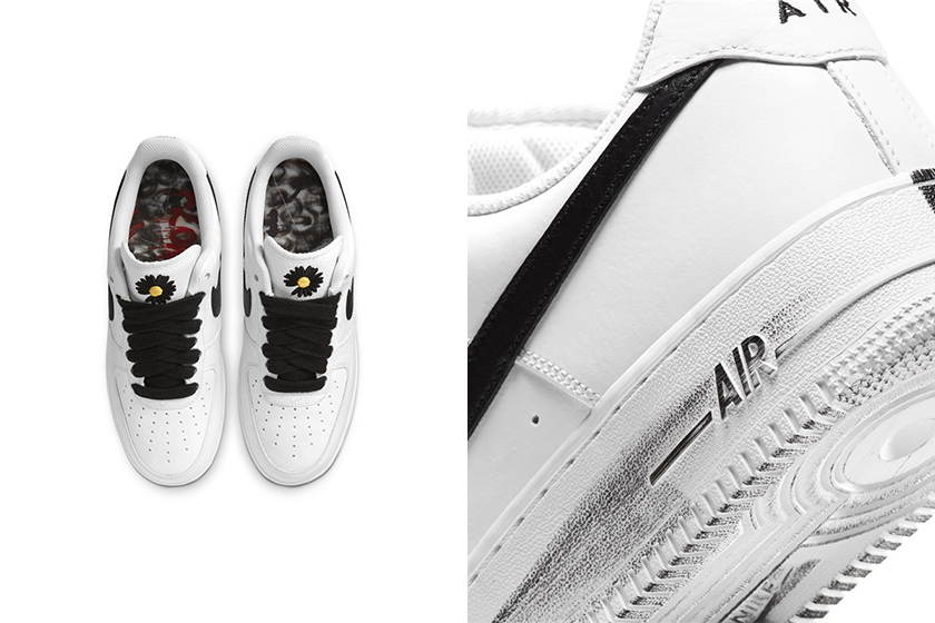 G-Dragon x Nike Air Force 1 Para-noise Youtopia